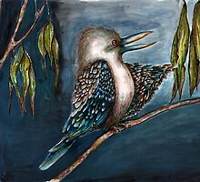 'Ha' said the kookaburra by Jenny Wood