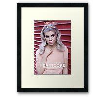 Heartcore Framed Print