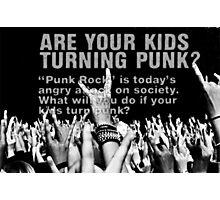 punk!! Photographic Print