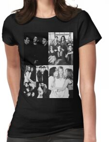 Friends Black&White Womens Fitted T-Shirt