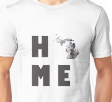 "Michigan ""HOME"" Unisex T-Shirt"