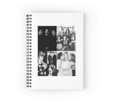 Friends Black&White Spiral Notebook