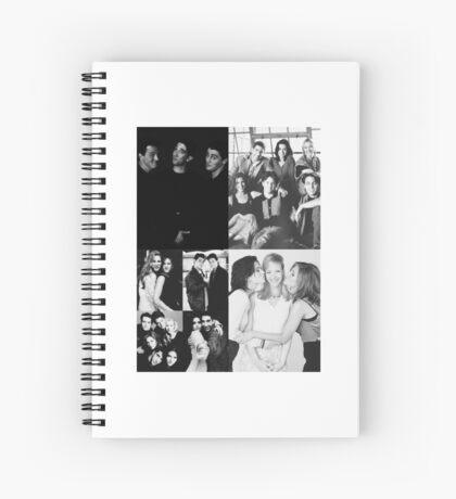 Friends Black&White Spiral Notebook