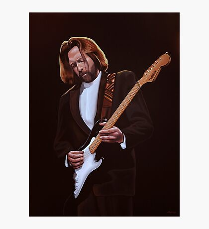 Eric Clapton Painting Photographic Print