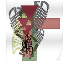 Abstract Jungle Poster