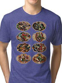 Mike Pike Machines 01 Tri-blend T-Shirt