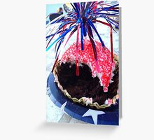 Fourth of July Greeting Card
