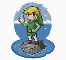 Zelda Wind Waker : Bottle of Milk by Purrdemonium