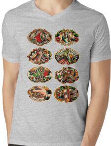 Mike Pike Machines 03 Mens V-Neck T-Shirt