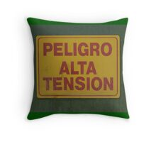 Haute Tension Throw Pillow