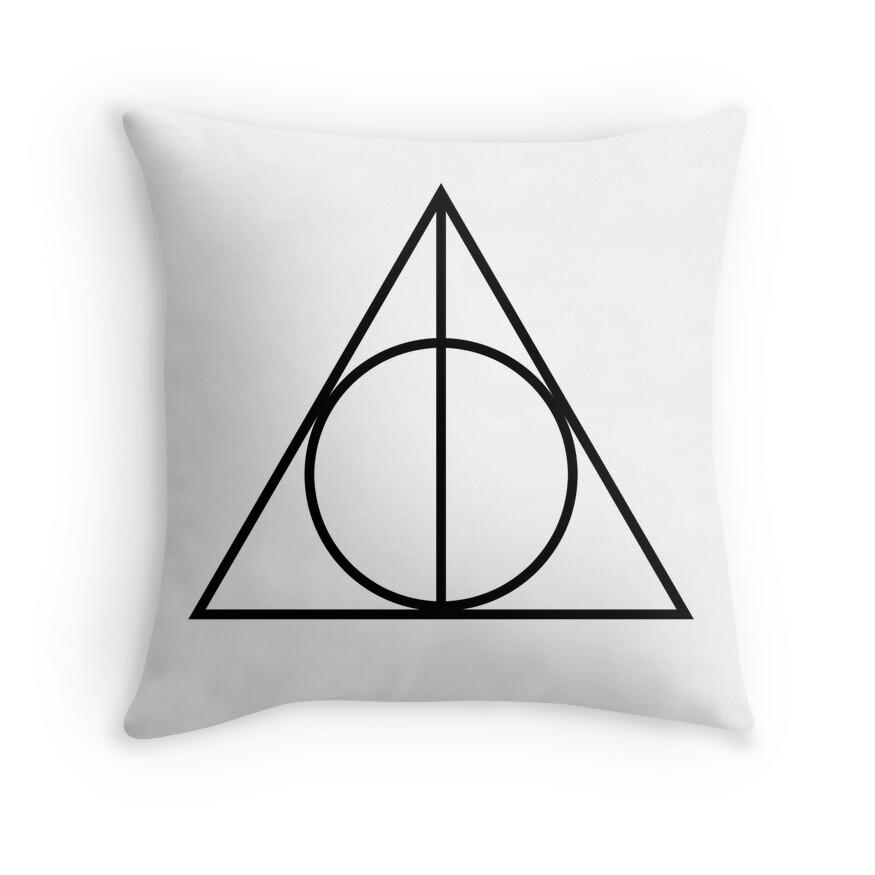 Deathly Hallows | Throw Pillow