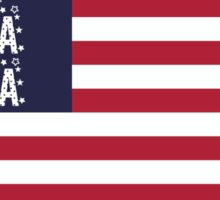 Gamma Sig Flag Sticker