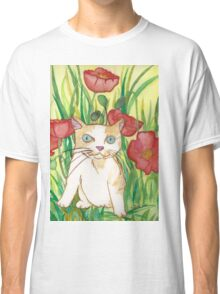 Between poppies Classic T-Shirt
