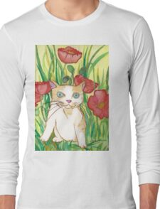 Between poppies Long Sleeve T-Shirt
