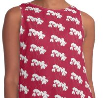 Red Orchids Contrast Tank
