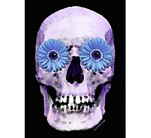 Skull Art - Day Of The Dead 3 Photographic Print