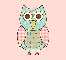 Patterned Owl by ElephantTrunk