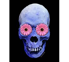 Skull Art - Day Of The Dead 1 Photographic Print