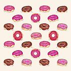 Homemade Doughnuts by Perrin Le Feuvre