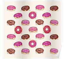 Homemade Doughnuts Poster