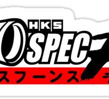 HKS Spec R Turbo Sticker
