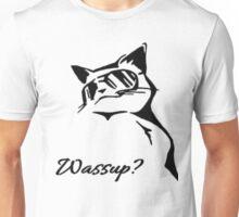 Wassup Badass Cat Unisex T-Shirt