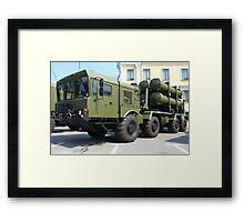 mobile missile launcher Framed Print