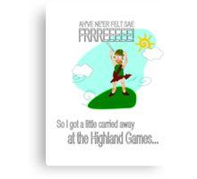 Highland Games Canvas Print