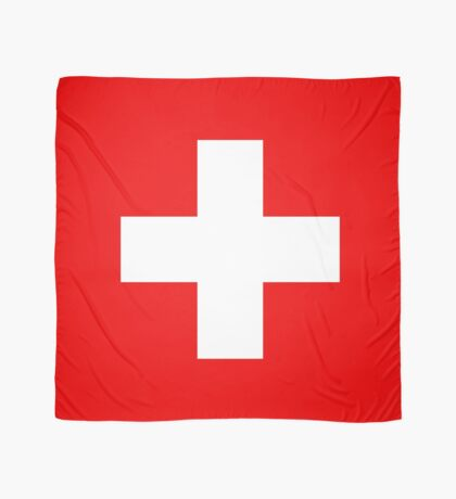 Flag of Switzerland - Authentic 2:3 scale version Scarf