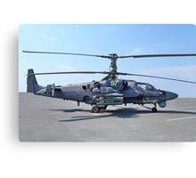 helicopter Ka-52 Alligator Canvas Print