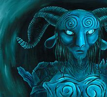 Pan's Labyrinth Faun by Katie Clark
