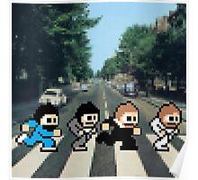 8-Bit Beatles Poster