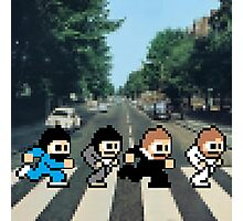 8-Bit Beatles Photographic Print