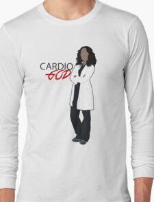 Cristina Yang - Cardio God Long Sleeve T-Shirt