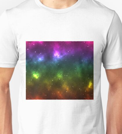 Rainbow Galaxy Unisex T-Shirt