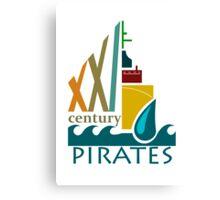Pirates of the 21st Century Canvas Print