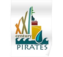 Pirates of the 21st Century Poster