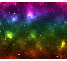 Rainbow Galaxy Photographic Print