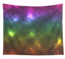 Rainbow Galaxy Wall Tapestry