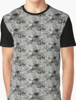 BLACK AND WHITE AMARYLISS Graphic T-Shirt