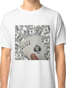 Royal Flush Spades Classic T-Shirt