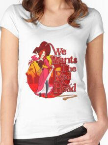 We Wants the Red Head Women's Fitted Scoop T-Shirt