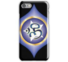 Ajna Chakra (AUM Vibration) iPhone Case/Skin