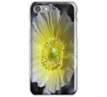 Yellow Poppy iPhone Case/Skin