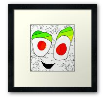 Just Smile Framed Print