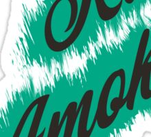 Run Amok Sticker