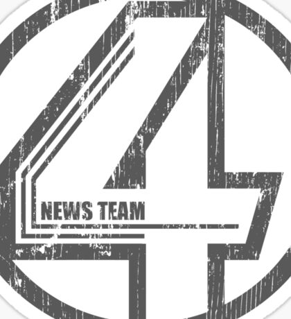 Fantastic 4 News Team Sticker