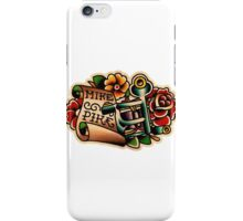 Spitshading 25 iPhone Case/Skin