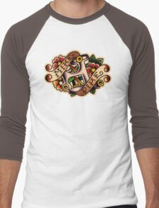 Spitshading 26 Men's Baseball ¾ T-Shirt