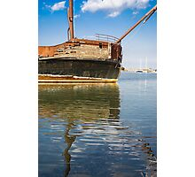 Shipwreck Reflection Photographic Print